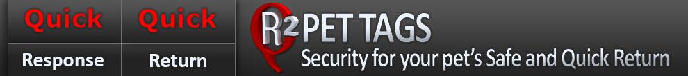QR2 PET TAGS